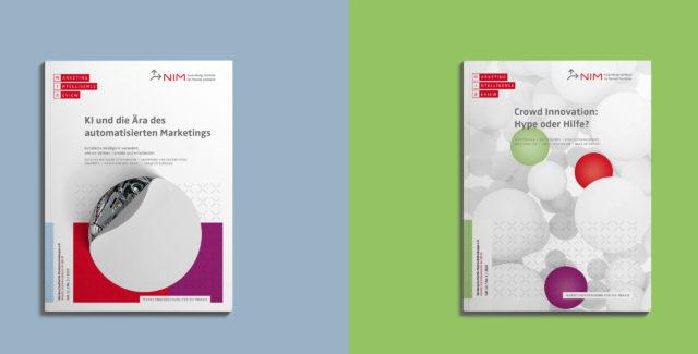 NIM Magazin MIR 2020 und 2019 Titelgestaltung
