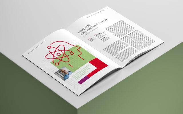 NIM Magazin MIR 2020 Innenseite Gestaltung Illustration und Text
