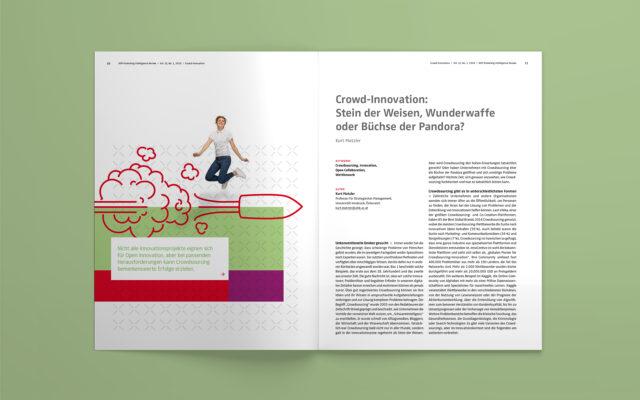 NIM Magazin MIR 2020 Innenseite Illustration und Text