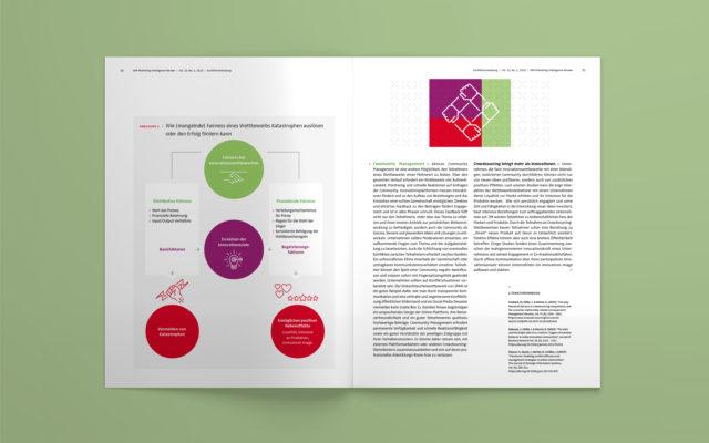NIM Magazin MIR 2020 Innenseite Grafik und 3D Illustration
