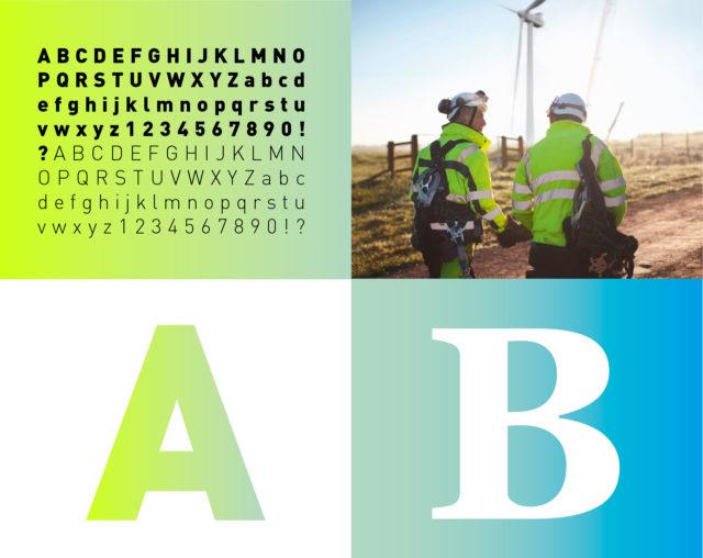 GGEW Corporate Design Typo und Farben