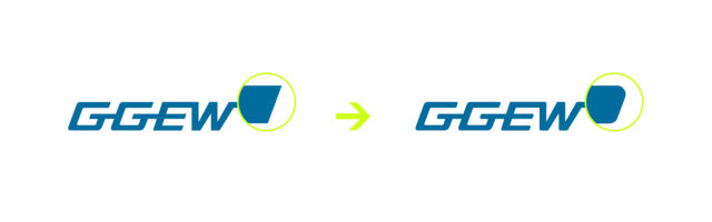 GGEW Corporate Design Logomodifikation