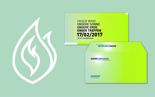 GGEW Corporate Design Save-the-Date Mailing
