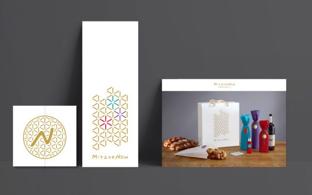 Mitzve Now Corporate Design Kommunikationsmittel Print