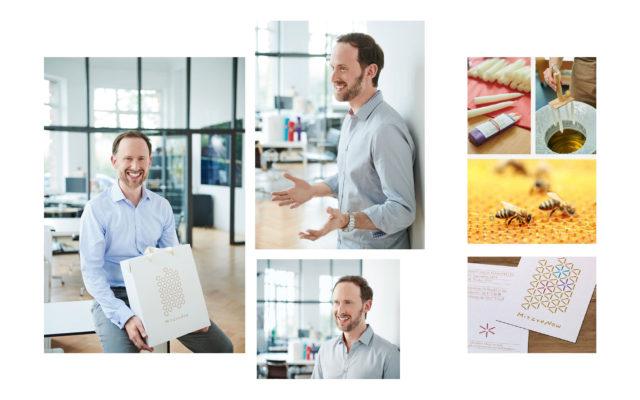 Mitzve Now Corporate Design Geschäftsführer und Herstellung