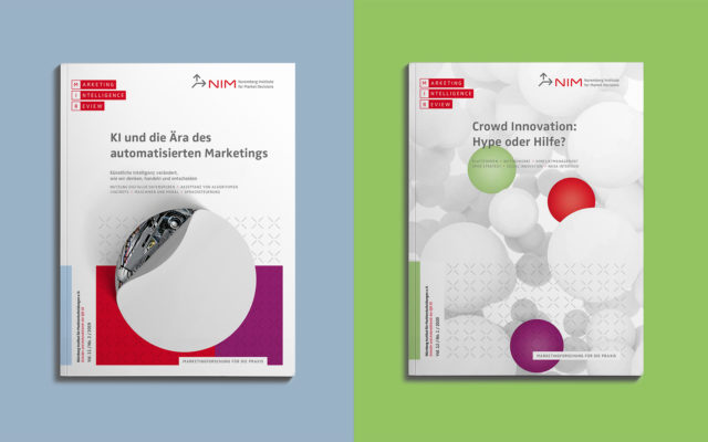 NIM Corporate Design Titelvarianten