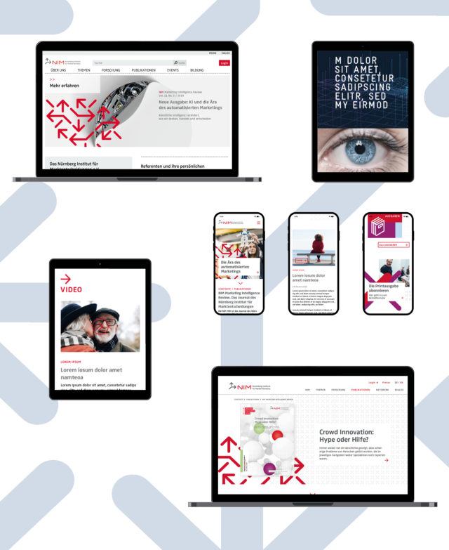 NIM Corporate Design Mobile