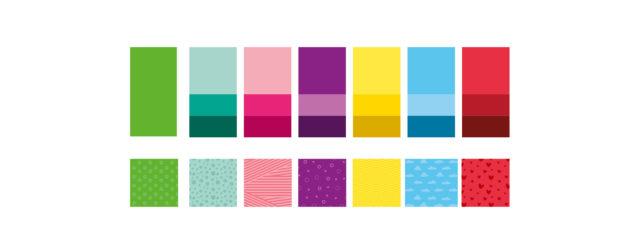 Fitvia Corporate Design Farben