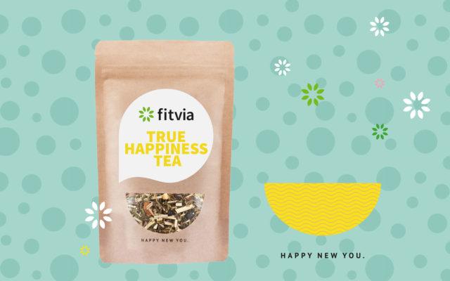 Fitvia Corporate Design Teaverpackung