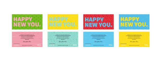 Fitvia Corporate Design Brandstory Flyer