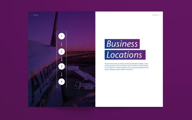 FRAPORT Corporate Design Broschüreninnenseiten