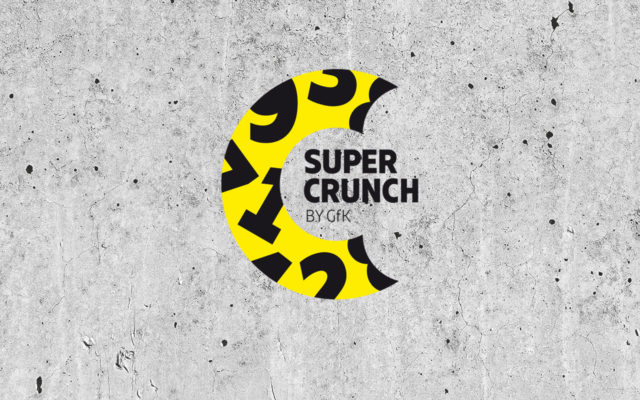 GfK Supercrunch Corporate Design Logo