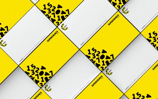 GfK Supercrunch Corporate Design Geschäftsausstattung Grußkarte Umschlag