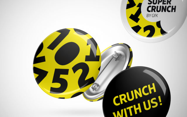 GfK Supercrunch Corporate Design PINS