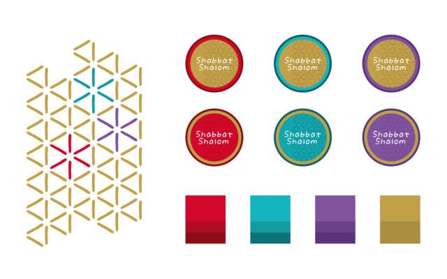Mitzve Now Corporate Design Icons und Farben