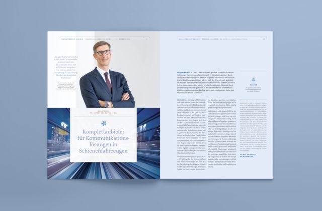 DBAG Geschäftsbericht Innenseite