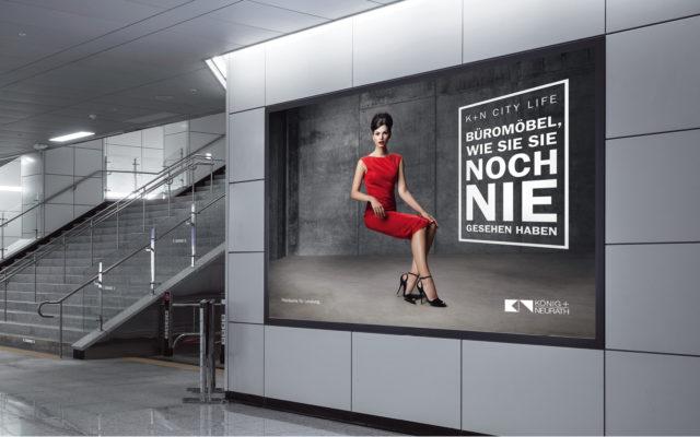 König + Neurath Key Messekonzept Orgatec Poster