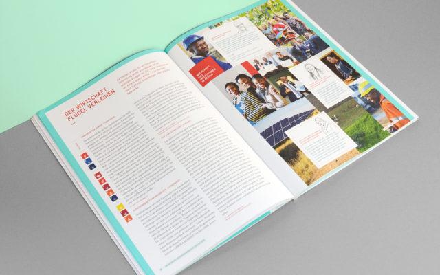 GIZ Unternehmensbericht 2018 Innenseite