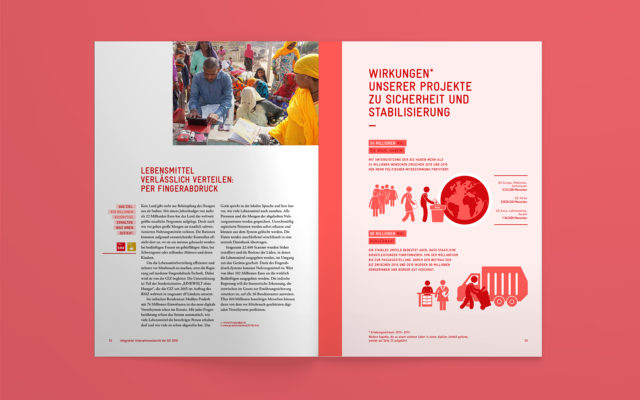 GIZ Integrierter Unternehmensbericht 2016 Innenseiten