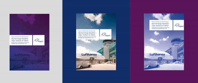 FRAPORT Corporate Design Broschürentitel