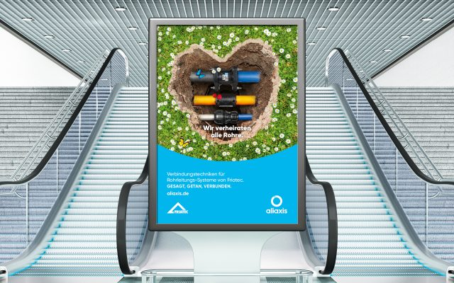 Aliaxis Kommunikation Poster