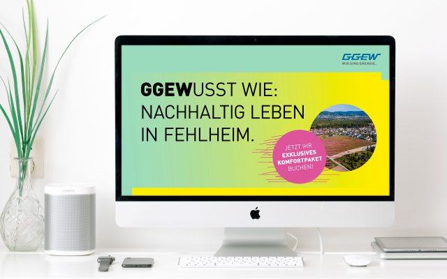 GGEW Kampagne Fehlheim Screen Film