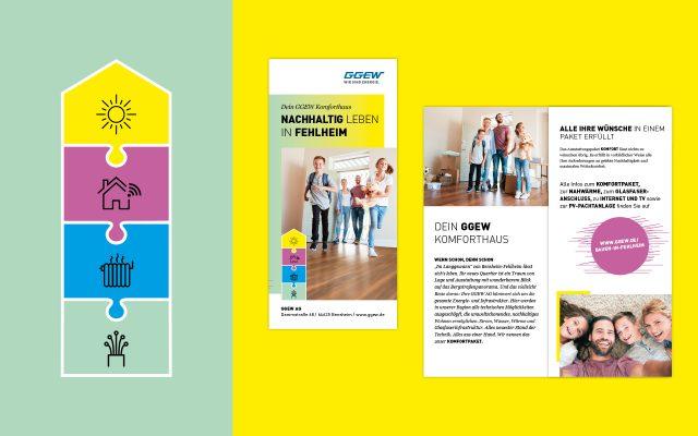 GGEW Projekt Fehlheim Key Visual und Flyer