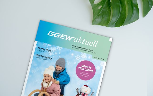 GGEW Kommunikationsmittel Magazintitel GGEW aktuell
