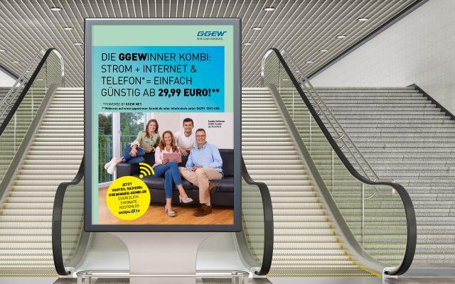 GGEW Kombikampagne Plakat