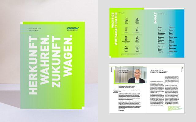 GGEW Geschäftsbericht 2018 Übersicht