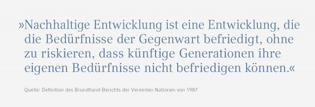 Eppendorf Nachhaltigkeitsbericht Zitat