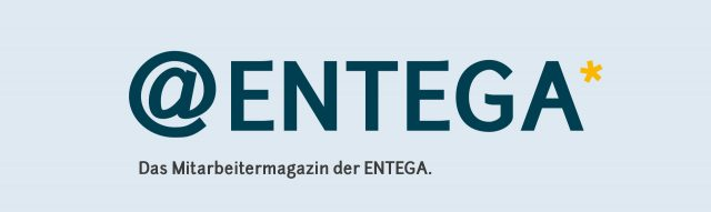 ENTEGA Mitarbeitermagazin Logo