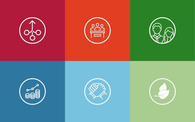 Alte Leipziger Nachhaltigkeitsbericht Icons