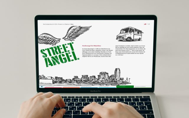 Alte Leipziger Nachhaltigkeitsbericht Innenseite